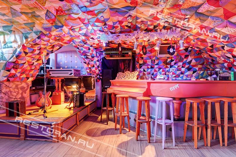 """Где отметить Новый год в Питере: бар """"Пурга"""""""