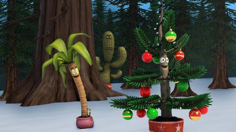 Новогодние мультфильмы для детей: Альберт