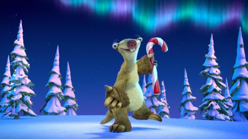 Новогодние мультфильмы для детей: Ледниковый период: Гигантское Рождество