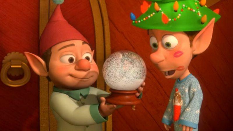 Новогодние мультфильмы для детей: Приготовление и начало