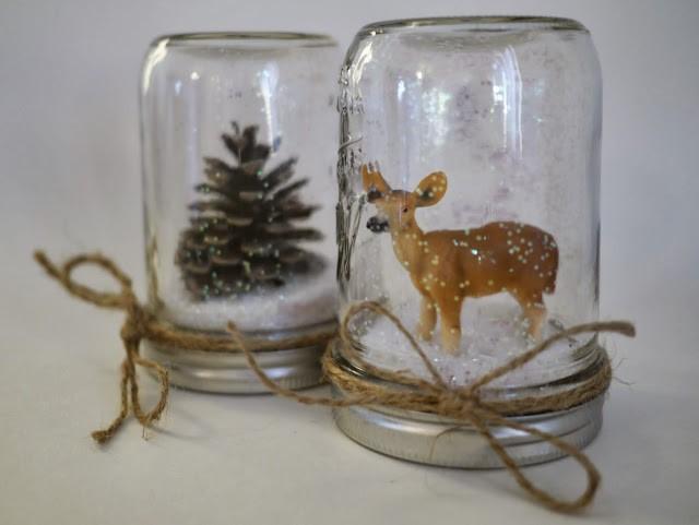 Зима в банке: новогодний декор своими руками