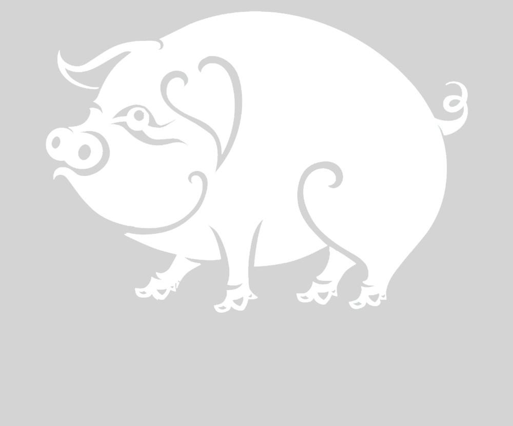 Нарисовать цветы, шаблон для новогодней открытки свинья