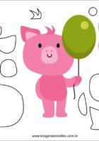 Фетровая свинья, схема