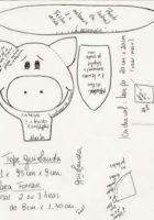 Схема фетровой свинки
