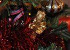 Рождественский ангел из макаронных изделий