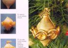 Поделка на елку из макарон