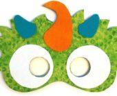 Шаблон маски из фетра Единорог