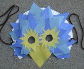 Новогодние маски для детей своими руками