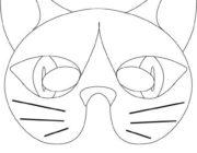 Маски животных: Кот