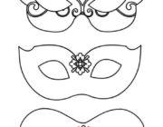 Шаблоны масок на Новый год для детей