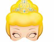 Маска принцессы для ребенка
