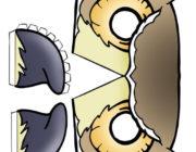 Новогодняя маска Сова