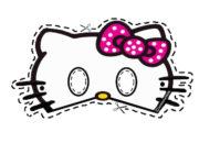 Маска Hello Kitty