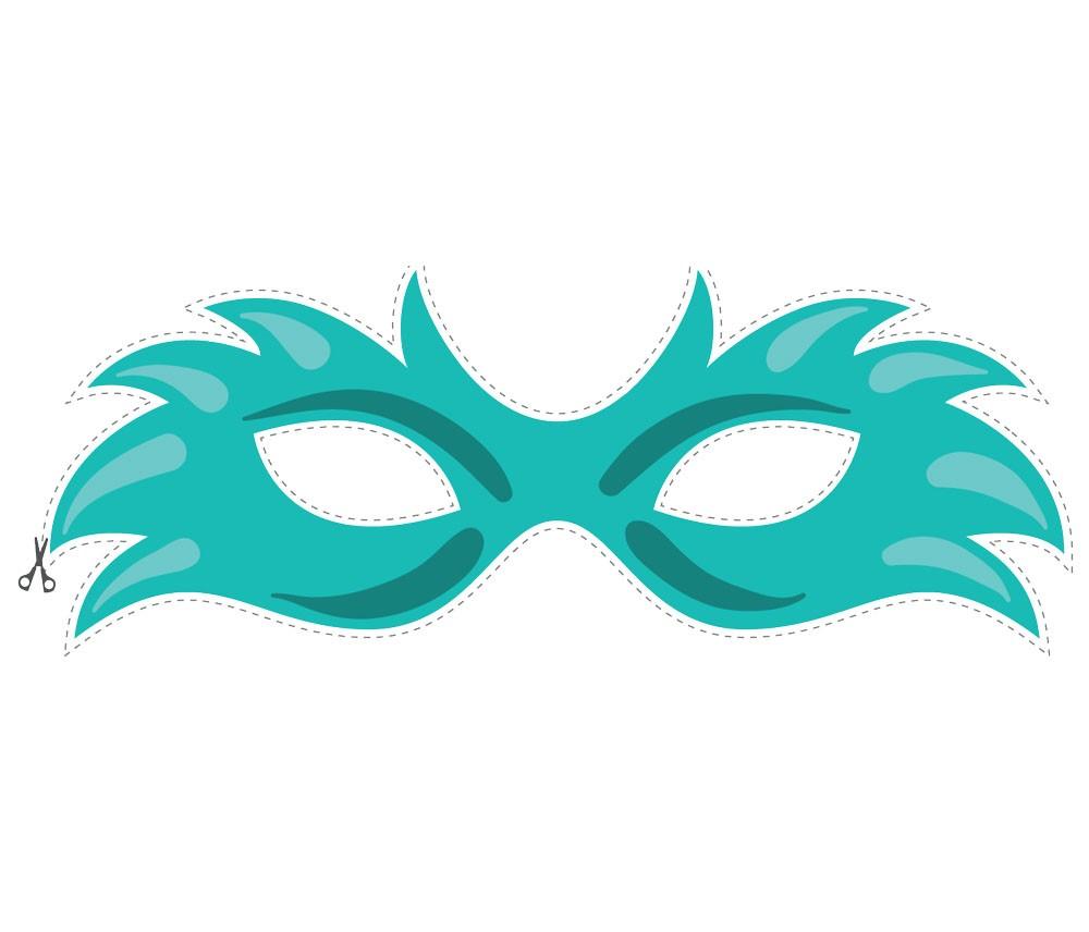 Карнавальные маски своими руками шаблоны
