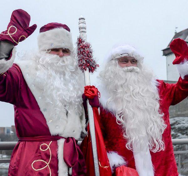 Отличия Деда Мороза от Санта Клауса