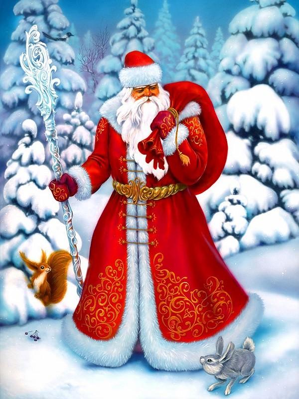 Дед Мороз и волшебный посох