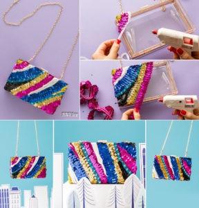 Подарки на Новый год своими руками: новогодняя сумочка
