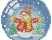 snowman_vyshivka-001-180x140 Снеговик своими руками на праздник Новый год
