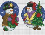 snowman_vyshivka-002-180x140 Снеговик своими руками на праздник Новый год