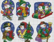 snowman_vyshivka-003-180x140 Снеговик своими руками на праздник Новый год