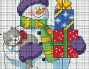 snowman_vyshivka-004-180x140 Снеговик своими руками на праздник Новый год