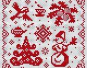 snowman_vyshivka-010-180x140 Снеговик своими руками на праздник Новый год