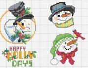 snowman_vyshivka-024-180x140 Снеговик своими руками на праздник Новый год
