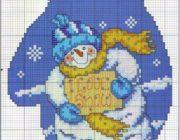 snowman_vyshivka-026-180x140 Снеговик своими руками на праздник Новый год