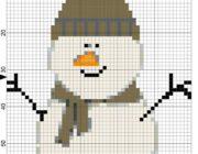 snowman_vyshivka-031-180x140 Снеговик своими руками на праздник Новый год