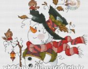 snowman_vyshivka-033-180x140 Снеговик своими руками на праздник Новый год