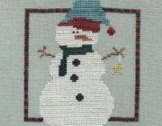 Снеговик своими руками: схема
