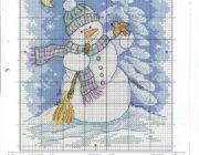 snowman_vyshivka-046-180x140 Снеговик своими руками на праздник Новый год