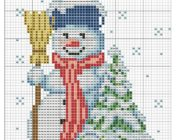 snowman_vyshivka-047-180x140 Снеговик своими руками на праздник Новый год