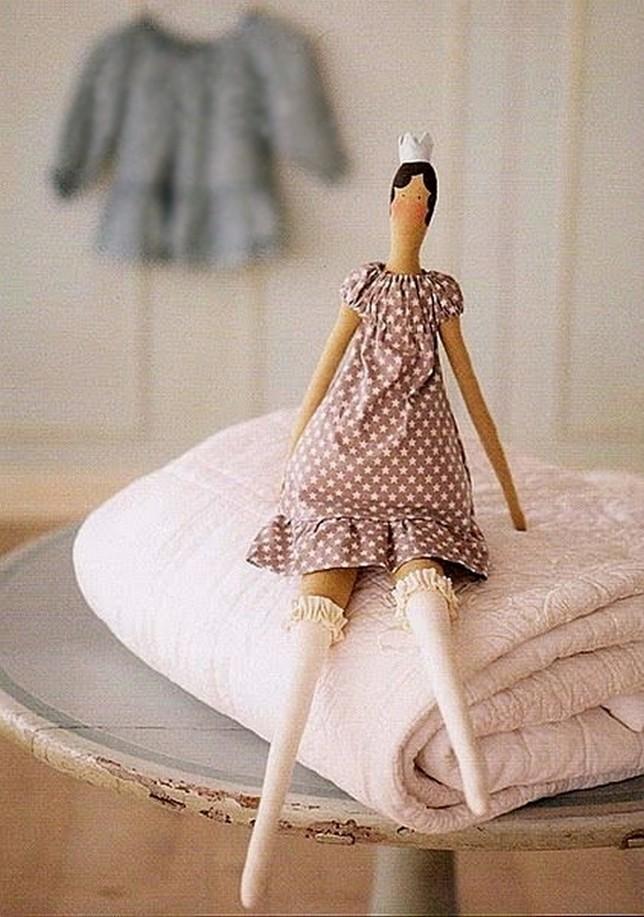 Тильда балерина (принцесса), маленькая кукла