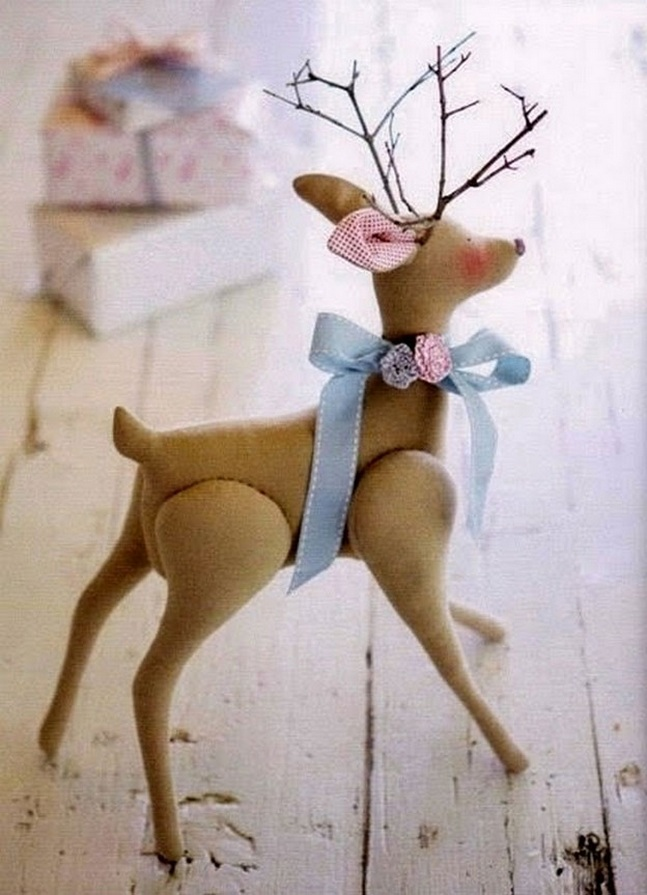Тильда Олень: шьем интерьерную куклу на Новый год своими руками