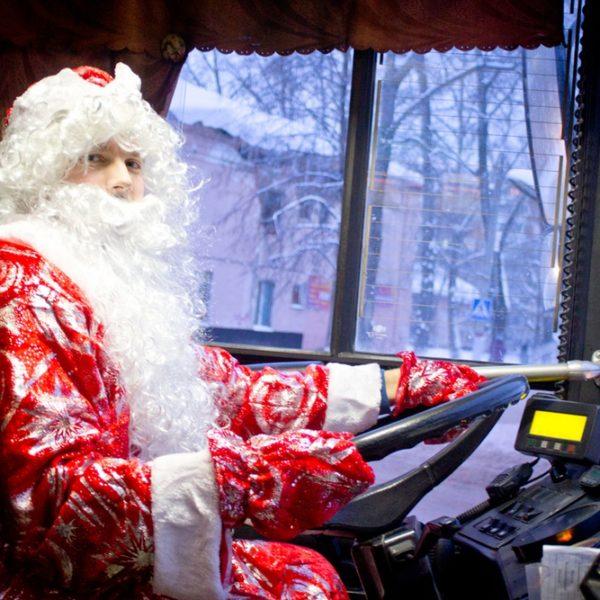 Как будет работать общественный транспорт в Минске в новогоднюю ночь