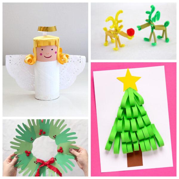 Новогодние поделки в детский сад: идеи и мастер классы