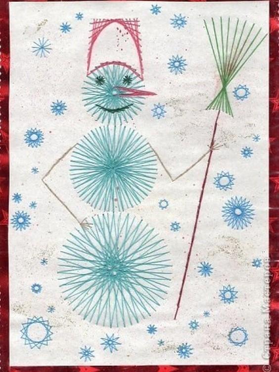 Новогодняя открытка изонить схемы 4 класс, картинки
