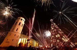 Где погулять и посмотреть праздничный салют в новогоднюю ночь в Минске