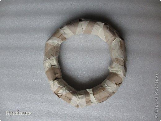 Основа для венка из втулок от туалетной бумаги своими руками